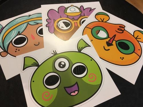 Get Qurious Masks