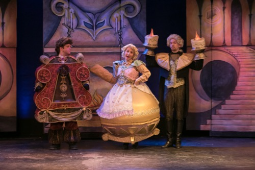 Costumes for Beauty and the Beast at the Growing Stage