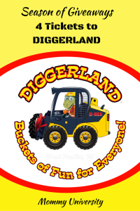 Season of Giveaways Diggerland