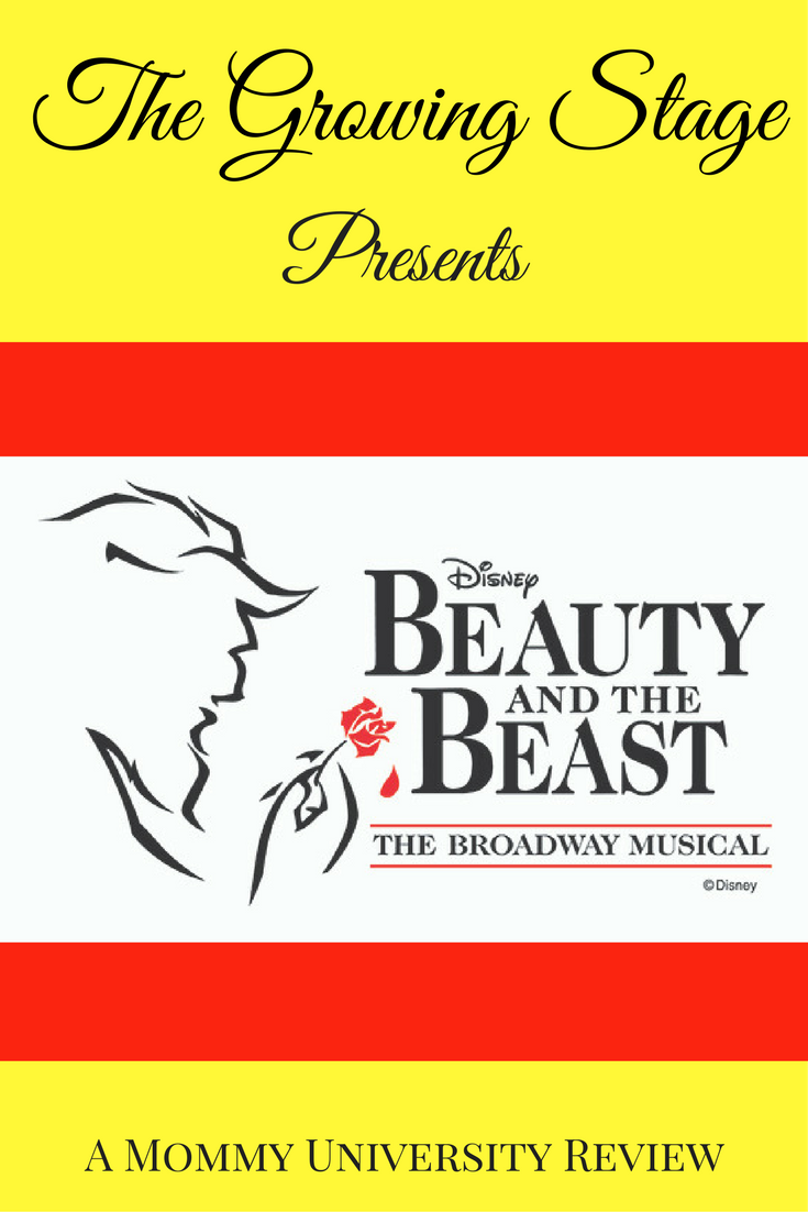 The Growing Stage Presents Beauty and the Beast