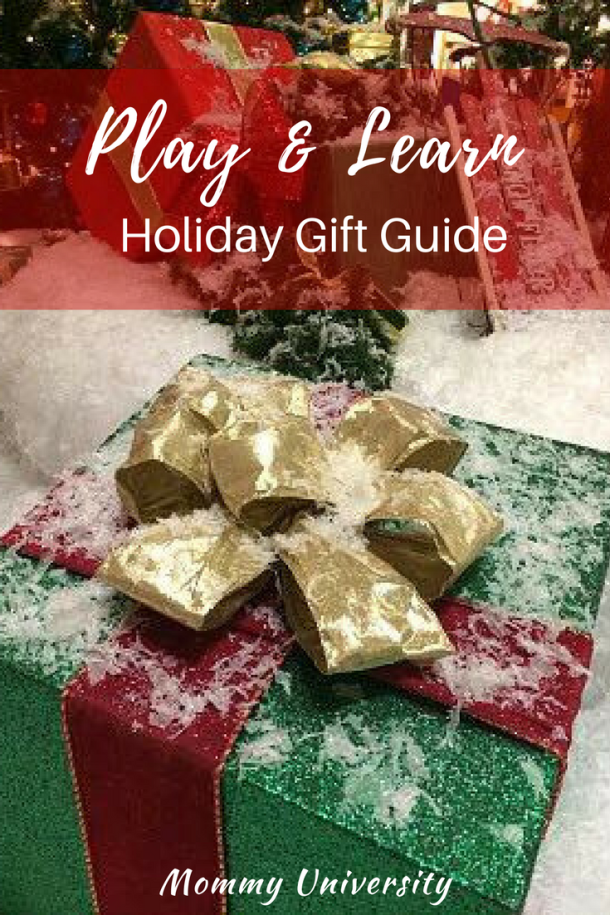 2017 Play and Learn Holiday Gift Guide