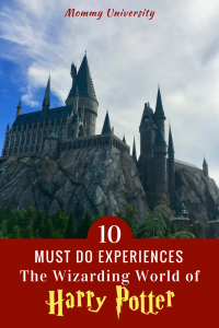10 Must Do Experiences at Wizarding World of Harry Potter