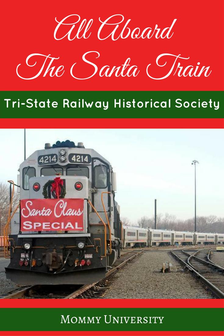 All Aboard the Santa Train