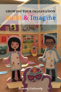 Growing Your Imagination with Build & Imagine