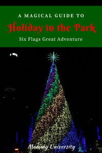 Holiday in the Park at Six Flags Great Adventure