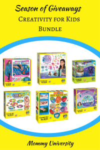 Season of Giveaways 2017 Creativity for Kids Bundle
