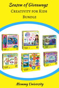 Season of Giveaways 2017 Creativity for Kids Bundle
