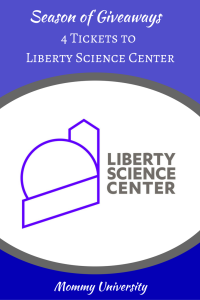 Season of Giveaways 2017 Liberty Science Center