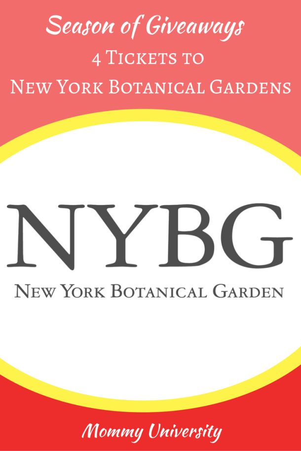 Season of Giveaways 2017 New York Botanical Gardens (1)
