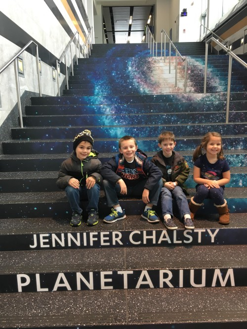 Jennifer Chalsty Planetarium at Liberty Science Center
