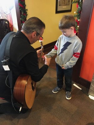 Learning to Play Guitar at Hersheypark Place