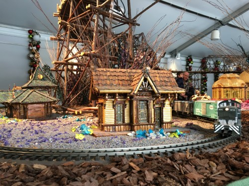 Holiday Train Show at New York Botanical Garden