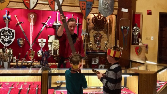 Swords at Medieval Times