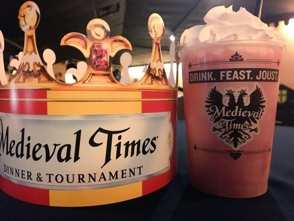 Drink at Medieval Times