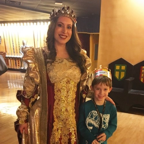 Queen at Medieval Times