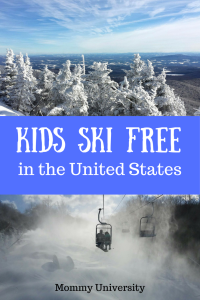 Kids Ski for FREE in the United States
