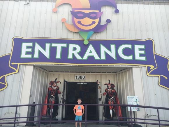 Entrance to Mardi Gras World