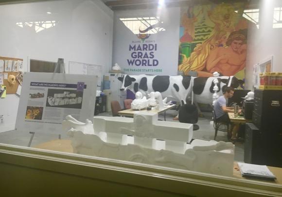 Creation Room at Mardi Gras World