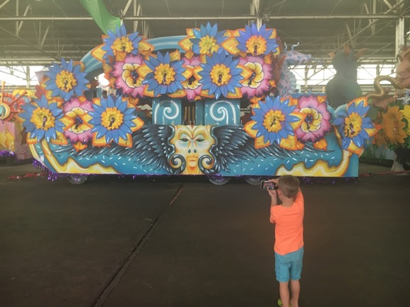 Mardi Gras World Float