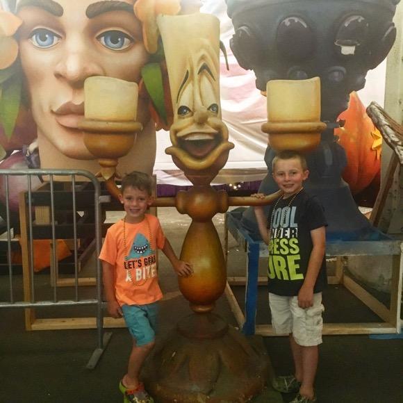 Disney at Mardi Gras World