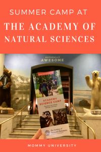Summer Camp at The Academy of Natural Sciences