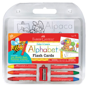 Faber Castell Alphabet Flash Cards