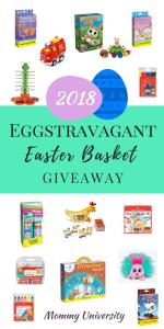 2018 Eggstravagant Easter Basket Giveaway