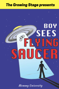 Boys Sees Flying Saucer