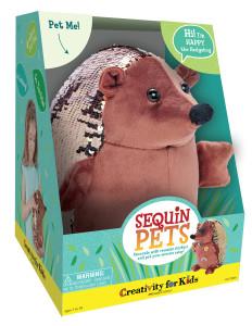 CFK Sequin Pets- Happy the Hedgehog