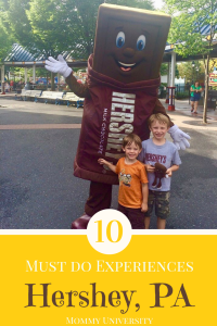 10 Must Do Experiences in Hershey, PA