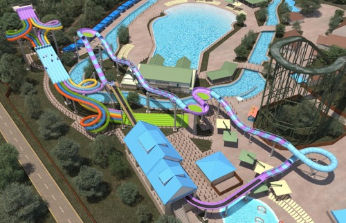 New Hersheypark Waterslides