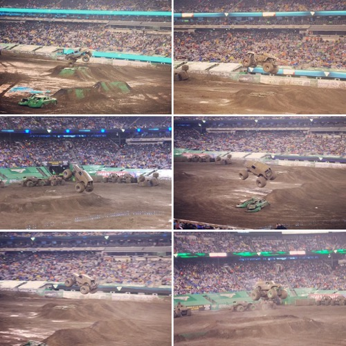 Monster Jam in the Mud