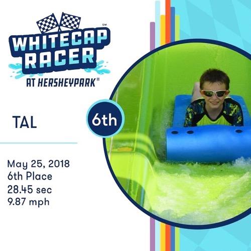 Whitecap Racer Stats