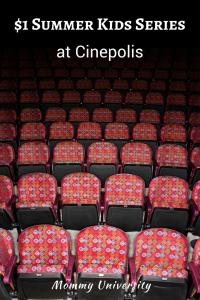 Summer Kids Series at Cinepolis