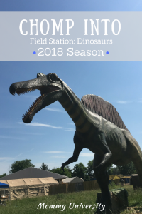 Chomp into Field Station Dinosaurs