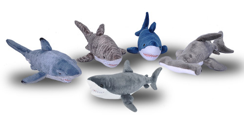 Cuddlekins Group Sharks