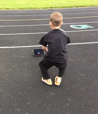 GoNoodle at the Track
