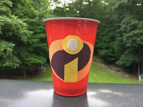 Incredibles Snack Cup