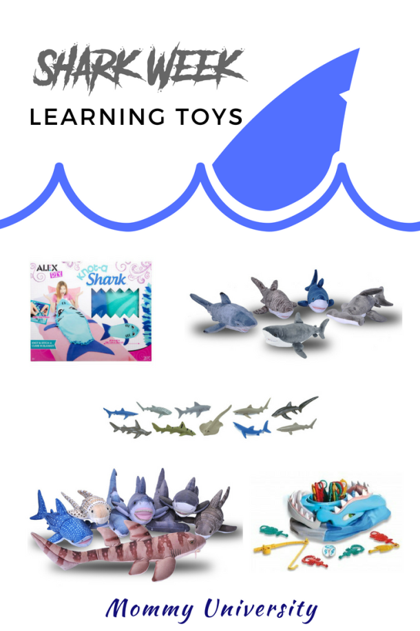Shark Week Learning Toys