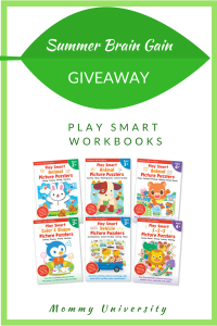 Summer Brain Gain Play Smart Giveaway