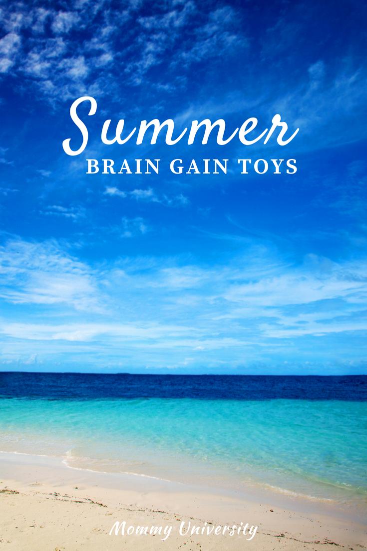 Summer Brain Gain Toys