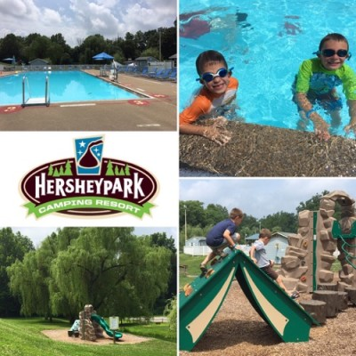 Hersheypark Camping Resort Collage