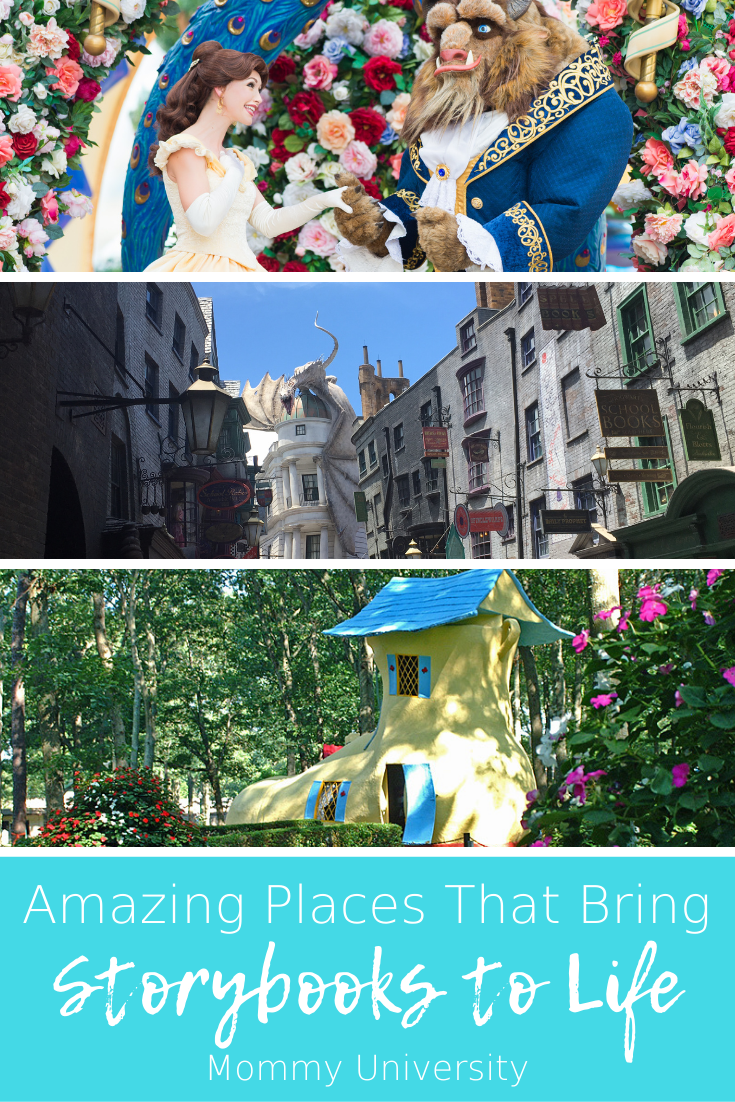Amazing Places that Bring Storybooks to Life