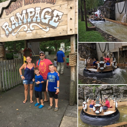 River Rampage at Dollywood
