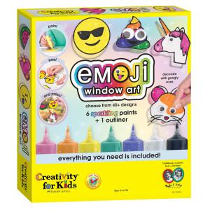 Emoji Window Art 6176