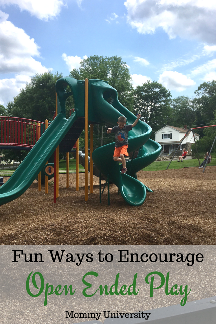 Fun Ways to Encourage Open Ended Play