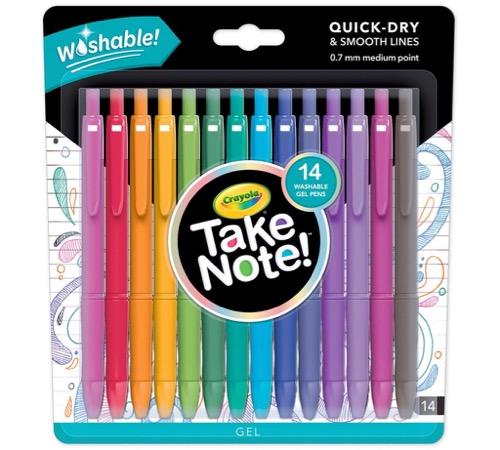 Take Note Gel Pens
