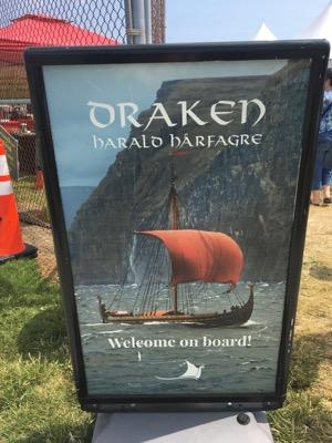 Sign for Draken Harald Hårfage