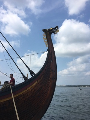 Dragon Head on Viking Ship