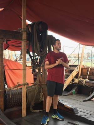Staff on Draken Viking Ship